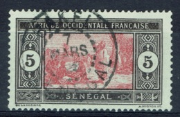 Senegal (French Colony), 5c., African Market, 1922, VFU Postmark From BAKEL - Used Stamps