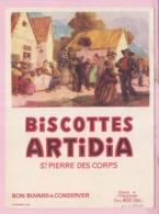 Buvard Biscottes ARTIDIA Saint Pierre 4 19 - Biscottes