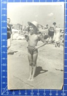 B&W Amateur Photo Boy Garcon Vacation Summer Swim 1119 - Anonymous Persons