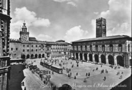Italy - Bologna - Piazza Maggiore Con Il Palazzo Del Podesta - Bologna