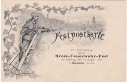 Zur Erinnerung An Das KREIS-FEUERWEHR-FEST Am Sonntag Den 19 August 1906 In Gebweiler ( Pompiers De GUEBWEILER ) - Guebwiller