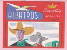 Buvard Biscottes ALBATROS Western 19 - Biscottes