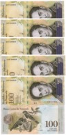 Venezuela - 100 Pcs X 100000 Bolivares 2017 UNC Bundle Lemberg-Zp - Venezuela