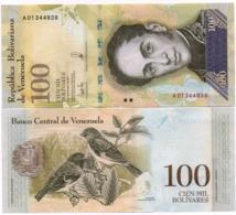 Venezuela - 100000 Bolivares 2017 UNC Lemberg-Zp - Venezuela