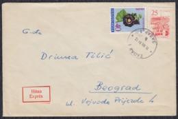 Yugoslavia 1961 Express Letter Sent From Zadar To Beograd - 1945-1992 Sozialistische Föderative Republik Jugoslawien