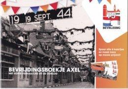 Nederland - 19 September 1944 - Bevrijdingsboekje Axel Zeeuws-Vlaanderen - 6 Kaartjes Met Illustraties - Nieuw Exemplaar - Oorlog 1939-45