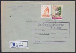 Yugoslavia 1961 Registered Letter Sent From Pancevo To Kovin - 1945-1992 Sozialistische Föderative Republik Jugoslawien