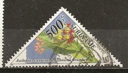 Surinam 1995 Fleurs Flowers Obl ! - Surinam