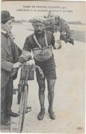 CYCLISME TOUR DE FRANCE 1910 Cruchon Gros Plan - Cyclisme