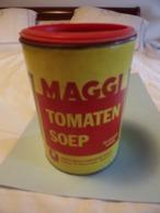 Boites. Maggi. Tomaten Soep. Potage à La Tomate (publicité) - Boîtes