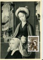 Peintre: Gérard David  N° 811  Obl. Brugge - Maximum Cards