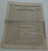 Le Nouveau Journal De Strasbourg Du 24 Août 1945. - Riviste & Giornali