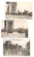 Paris- Fêtes De La Victoire -Troupes Françaises,Général Pershing,chars D'assaut, Tank (D.3598) - Frankreich
