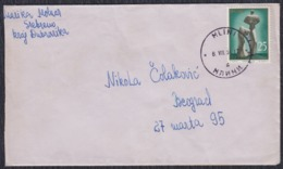 Yugoslavia 1961 Letter Sent From Mlini To Beograd - 1945-1992 Sozialistische Föderative Republik Jugoslawien