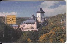 CZECH REPUBLIC - Castle Karlstejn, 09/98, Used - Landschaften