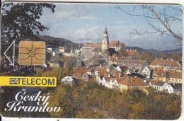 CZECH REPUBLIC - Cesky Krumlov, Tirage 50000, 06/94, Used - Landschaften