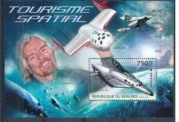 BURUNDI :   AIRPLANES  : SPACE  MNH - Burundi