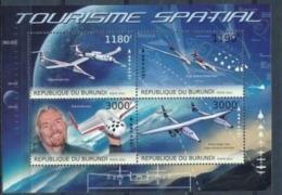 BURUNDI :   AIRPLANES  : SPACE  MNH - 2010-..: Neufs