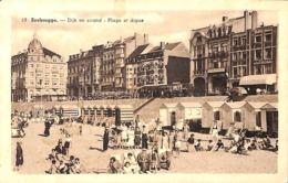 Zeebrugge - Dijk En Strand - Plage Et Digue (animation, Edit. L. Verstraete 1947) - Zeebrugge