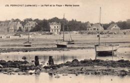 Pornichet Le Port La Plage à Marée Basse Voiliers - Pornichet