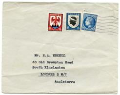 FRANCE : 1947 - ENVELOPE SENT TO LONDON, SOUTH KENSINGTON, OLD BROMPTON ROAD - France