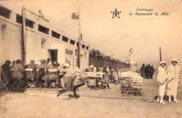 Zeebrugge - Le Restaurant Du Môle (animation, Café 1927) - Zeebrugge