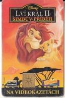 CZECH REPUBLIC - Disney/The Lion King, 11/98, Used - Disney