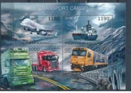 BURUNDI :   AIRPLANES  : TRAINS  : CARS : SHIPS : TRUCKS MNH - 2010-..: Neufs