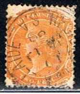 AUSTRALIE 433 // YVERT 61 (DENT 13) // 1893-95 - Gebruikt