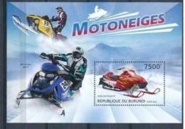 BURUNDI :   CARS :  SNOWCAR : MOTO  MNH - Burundi