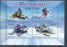 BURUNDI :   CARS :  SNOWCAR : MOTO  MNH - 2010-..: Neufs