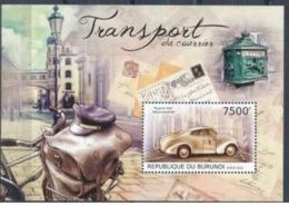 BURUNDI :   CARS :  Stamp On Stamp : Letterbox : Transport   MNH - 2010-..: Neufs