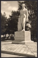 Greece - Ναύπλιο  Nauplia The Statue Of Kapodistria [Real Photo] - Grecia