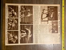1932 1933 M BOXE BOXEUR CLETO LOCATELLI HOLTZER HUGUENIN GANDON LEN HARVEY CIRQUE D HIVER - Vieux Papiers