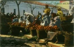 AFRICA - LIBIA / LIBYA - IL MERCATO DELLA FRUTTA - EDIZ. COMETTO - FOTO LEHNERT & LANDROCK - 1910s  (5609) - Libia