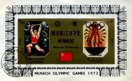 17 Blocs Différents De Sport Olympique Munich 1972 - Sharjah