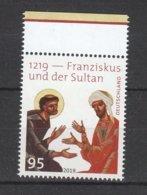Deutschland BRD **  3498 Franziskus Und Der Sultan 1219 Neuausgabe 10.10.2019 - [7] República Federal