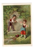 Chromo Imp. Appel, 2-1-25, Scenes D'enfance, Au Grand St. Paul - Cromos