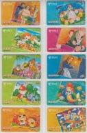 CHINA 2003 FAIRY TALES FULL SET OF 10 PHONE CARDS - Cinema