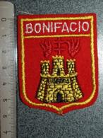 ECUSSON  TOURISTIQUE TISSUS  BONIFACIO - Blazoenen (textiel)