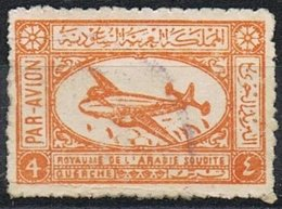 1949/58 - ARABIA SAUDITA - POSTA AEREA  / AIR MAIL. USATO - Arabia Saudita