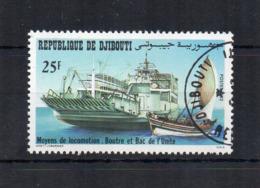 GIBUTI - 1982 - Navi E Barche - Usato - (FDC18228) - Gibuti (1977-...)