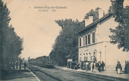 I156 - 33 - SAINTE-FOY-LA-GRANDE - Gironde - La Gare - France