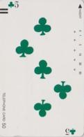 Télécarte Ancienne Japon / 110-11757 - Jeu De Cartes CARTE A JOUER - PLAYING CARD - Japan Front Bar Phonecard / A - Giochi