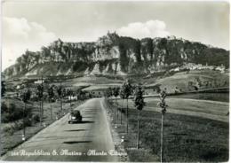 SAN MARINO  Monte Titano  Fiat Topolino - San Marino