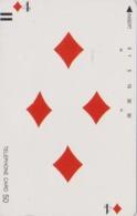 Télécarte Ancienne Japon / 110-11769 - Jeu De Cartes CARTE A JOUER - PLAYING CARD - Japan Front Bar Phonecard / A - Giochi