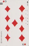 Télécarte Ancienne Japon / 110-11774 - Jeu De Cartes CARTE A JOUER - PLAYING CARD - Japan Front Bar Phonecard / A - Giochi