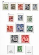 1946-47 MNH Nederlands Indië NVPH 317-330 Postfris - Nederlands-Indië