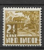1938 MNH  Nederlands Indië, With Watermark - Nederlands-Indië