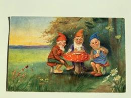 Nain, Lutin , Gnomes Champignon - Fairy Tales, Popular Stories & Legends